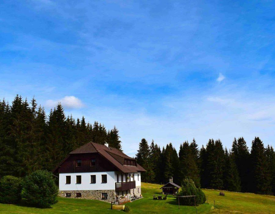Ubytování Horská Kvilda pension Helena Honesová, dovolená na Šumavě